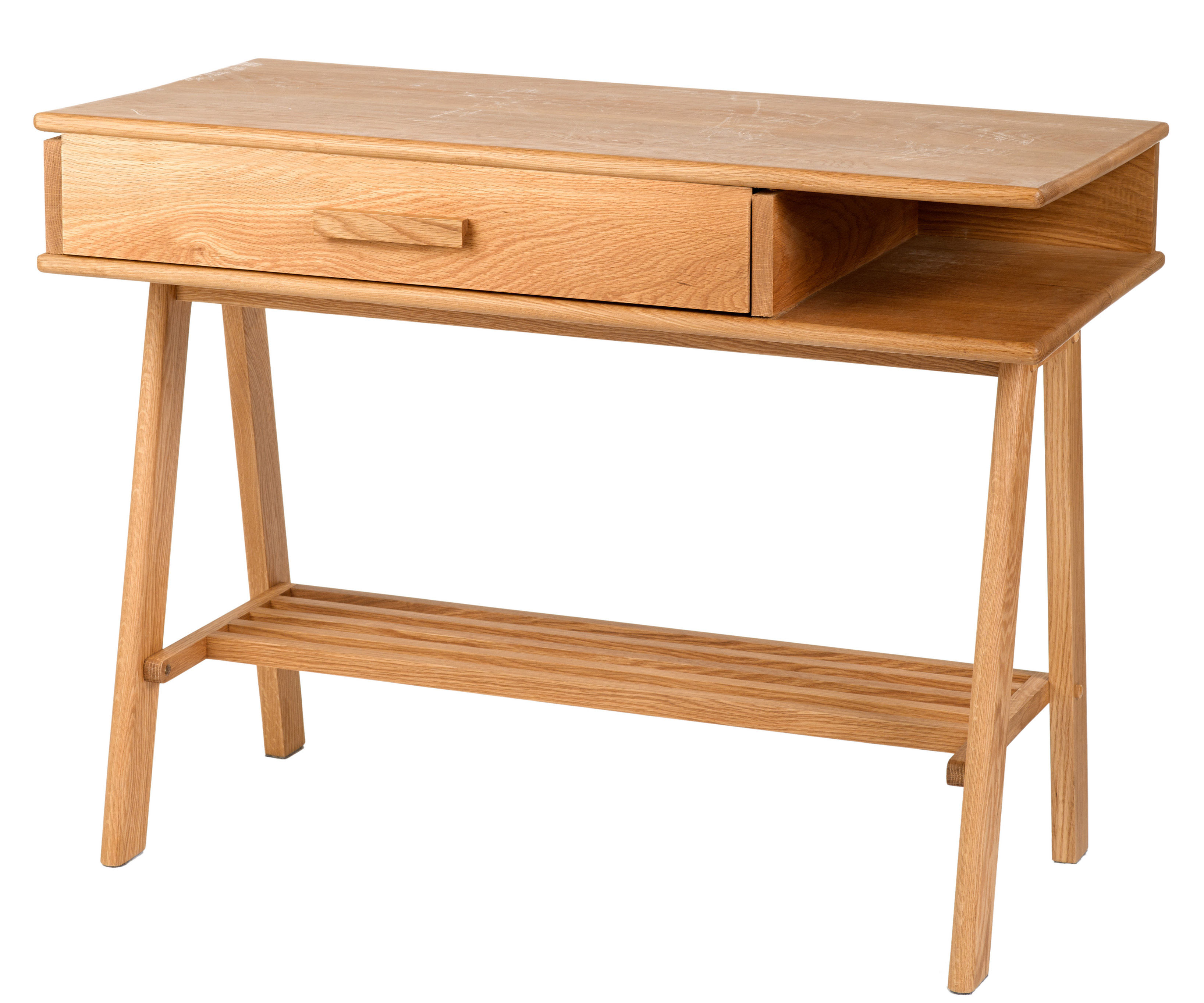 Buro desk natural wood by pols potten for Buro fourniture