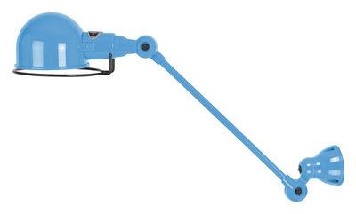 Foto Applique Signal - 1 braccio articolato - L 30 cm di Jieldé - Blu brillante - Metallo