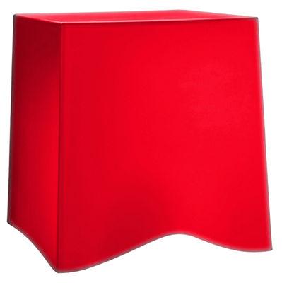 Tabouret empilable briq plastique rouge koziol - Tabouret plastique empilable ...