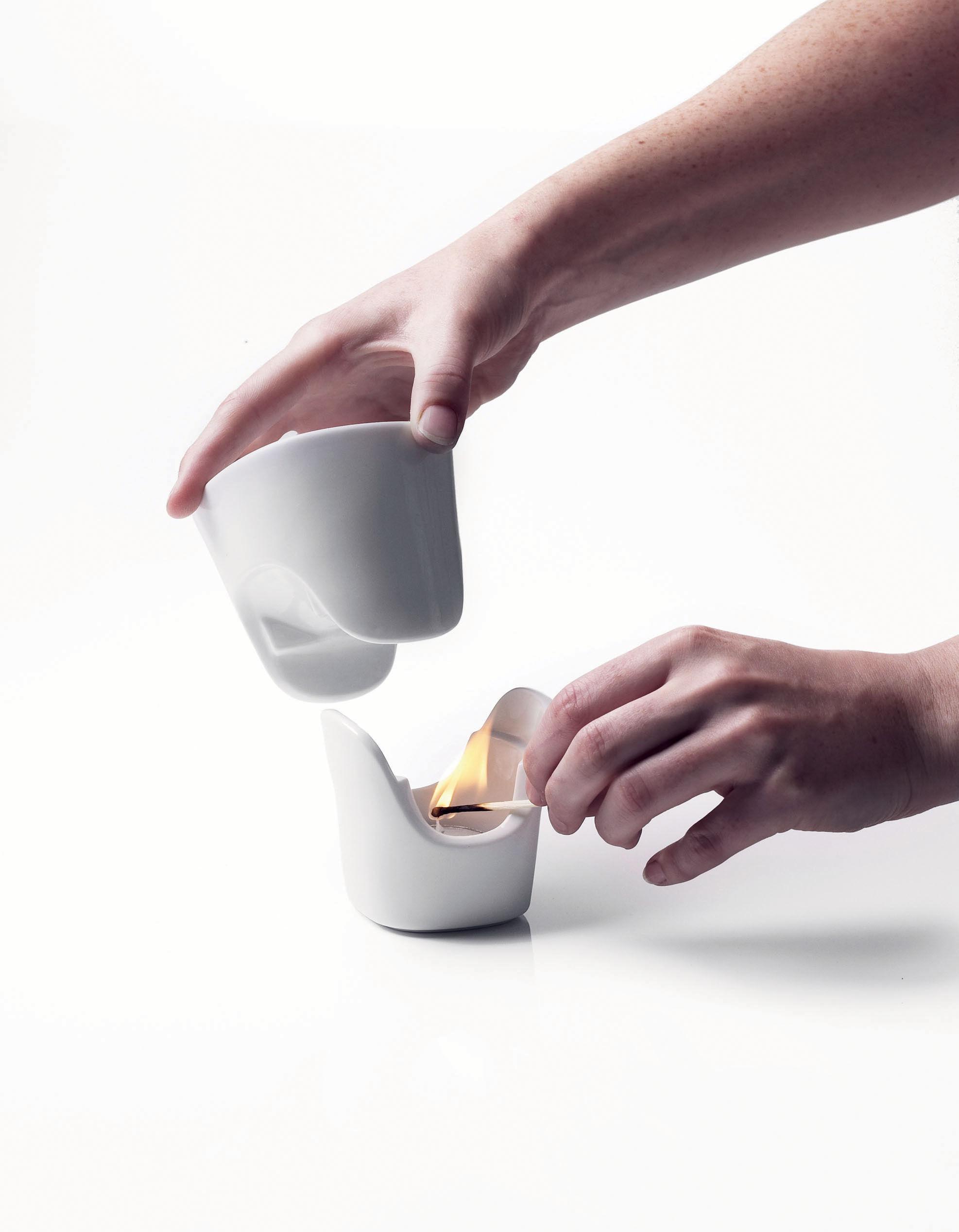Set Vaisselle 1 Personne Pour Fondue Au Chocolat Blanc Menu