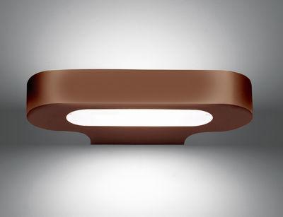 Foto Applique Talo - LED / L 21 cm di Artemide - Bronzo - Metallo