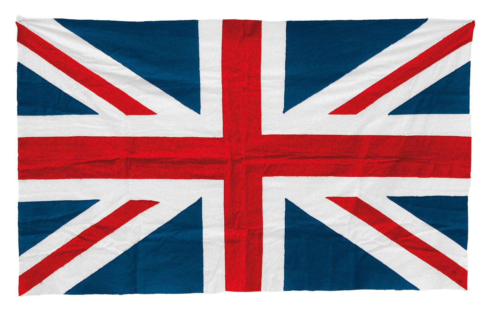 Scopri Bandiera -Inghilterra, rosso, blu & bianco di Seletti, Made In ...