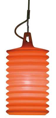 Suspension Lampion pour l´intérieur - Rotaliana Orange en Matière plastique