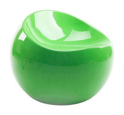 Foto Pouf per bambino Baby ball chair / In esclusiva - XL Boom - Verde flashy - Materiale plastico Pouf bambini