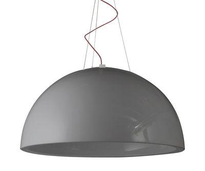 Foto Sospensione Cupole - versione laccata - Ø 120 cm - LED di Slide - Laccato grigio - Materiale plastico