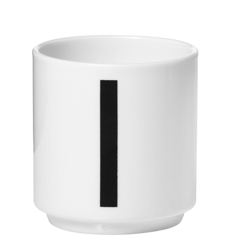 tasse espresso arne jacobsen porcelaine chiffre 1 blanc chiffre 1 design letters. Black Bedroom Furniture Sets. Home Design Ideas