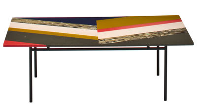 Fishbone Couchtisch / rechteckig - L 108 cm - Moroso