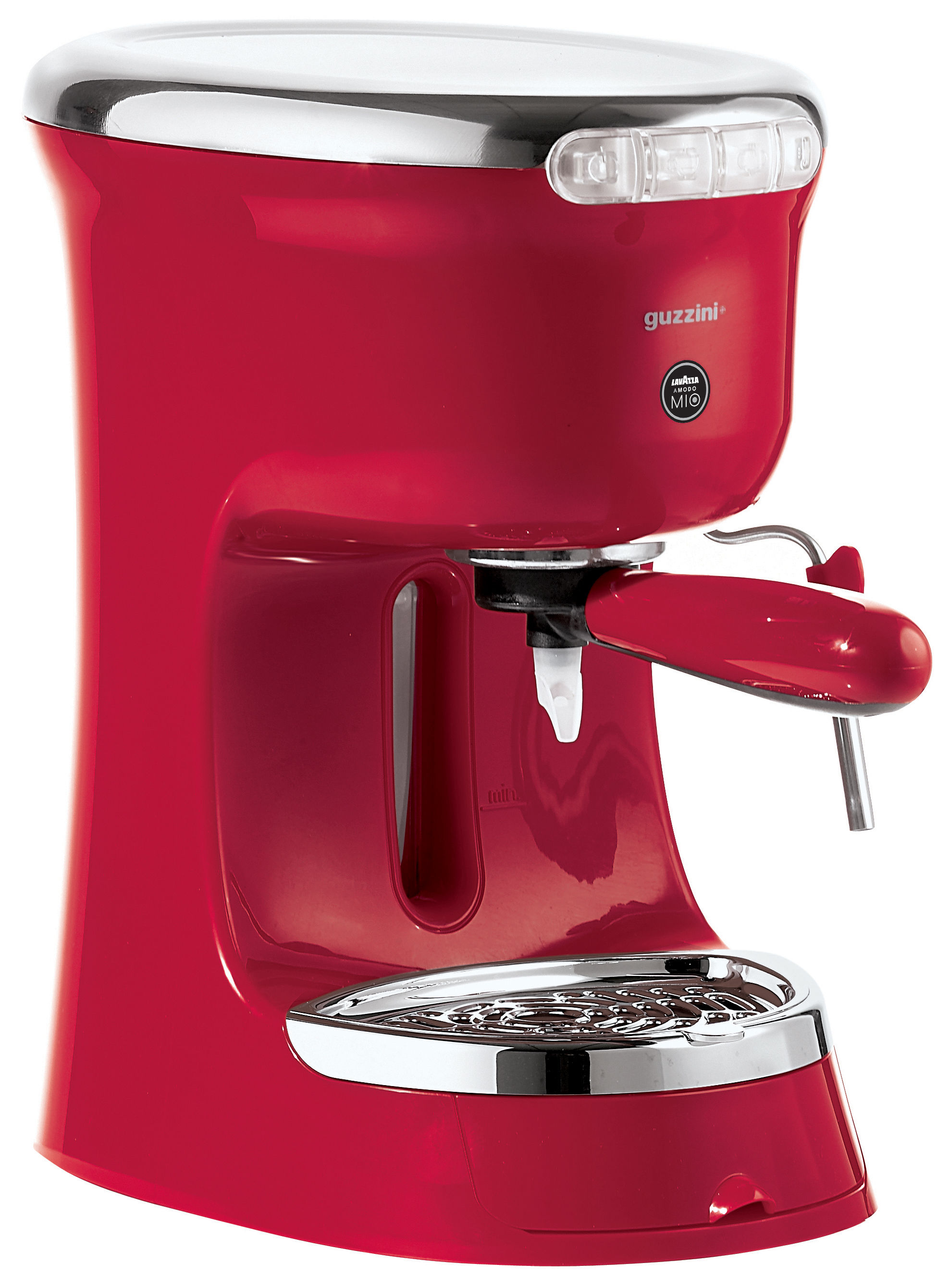 Alessi Electric Espresso Coffee Maker Rs07/Uk : G Plus Electric espresso maker - Espresso coffee machine Red by Guzzini