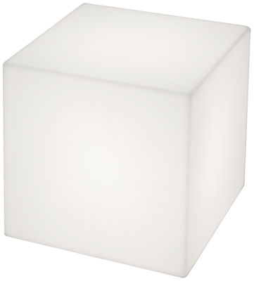 Cubo luminous coffee table - indoor