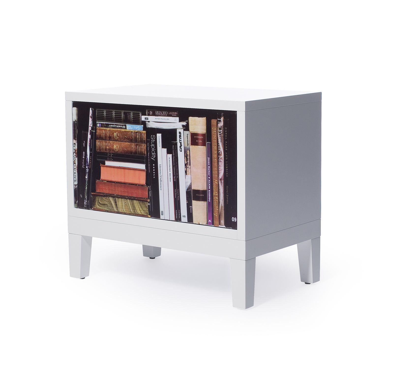 bookshelf bedside table side table bedside white
