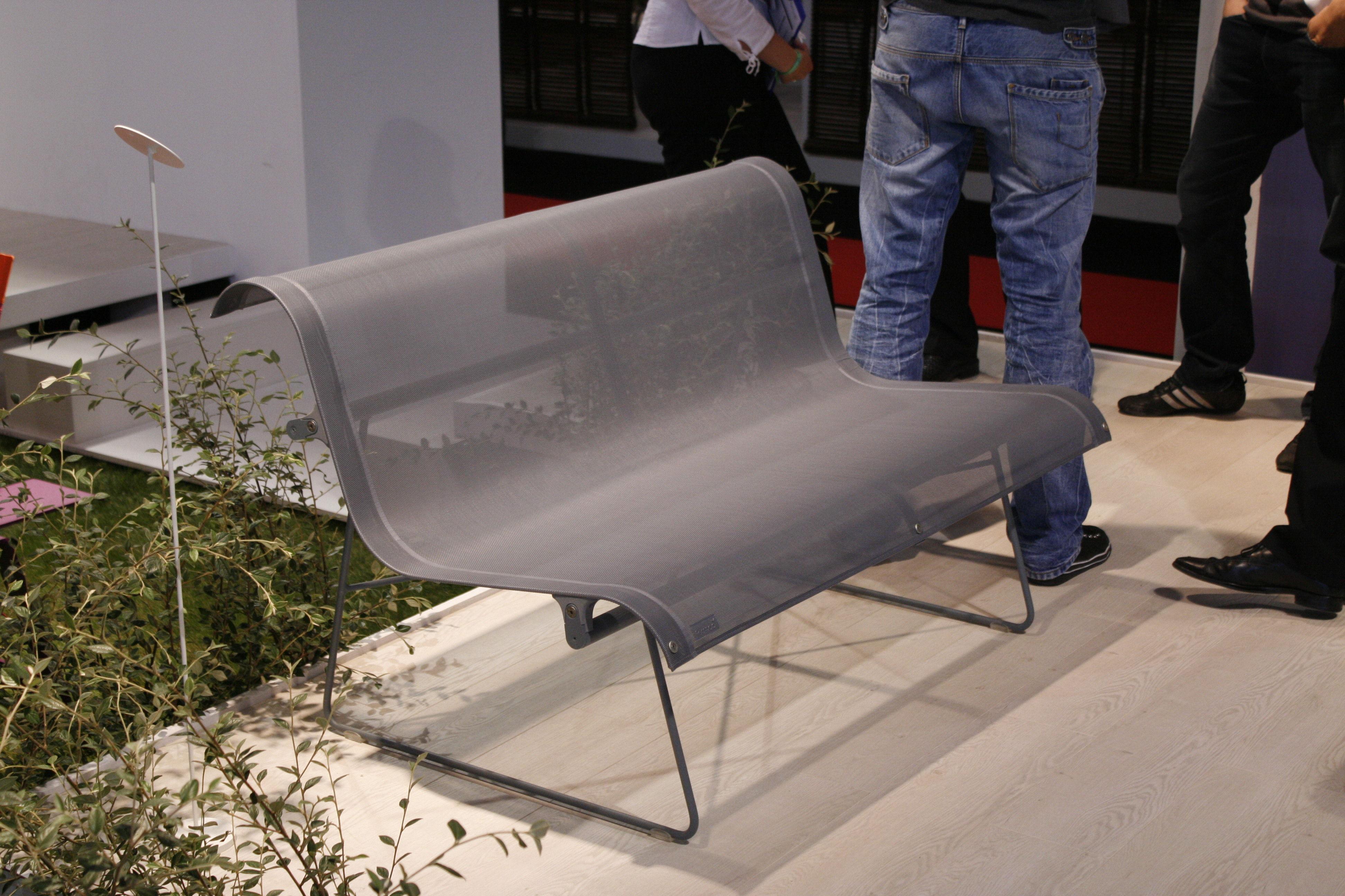 ellipse 3 sitzer l 194 cm fermob bank. Black Bedroom Furniture Sets. Home Design Ideas
