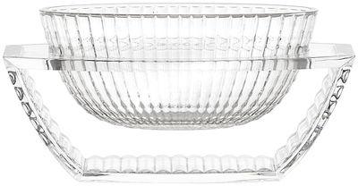 Foto Centrotavola U Shine - / Svuotatasche di Kartell - Trasparente - Materiale plastico