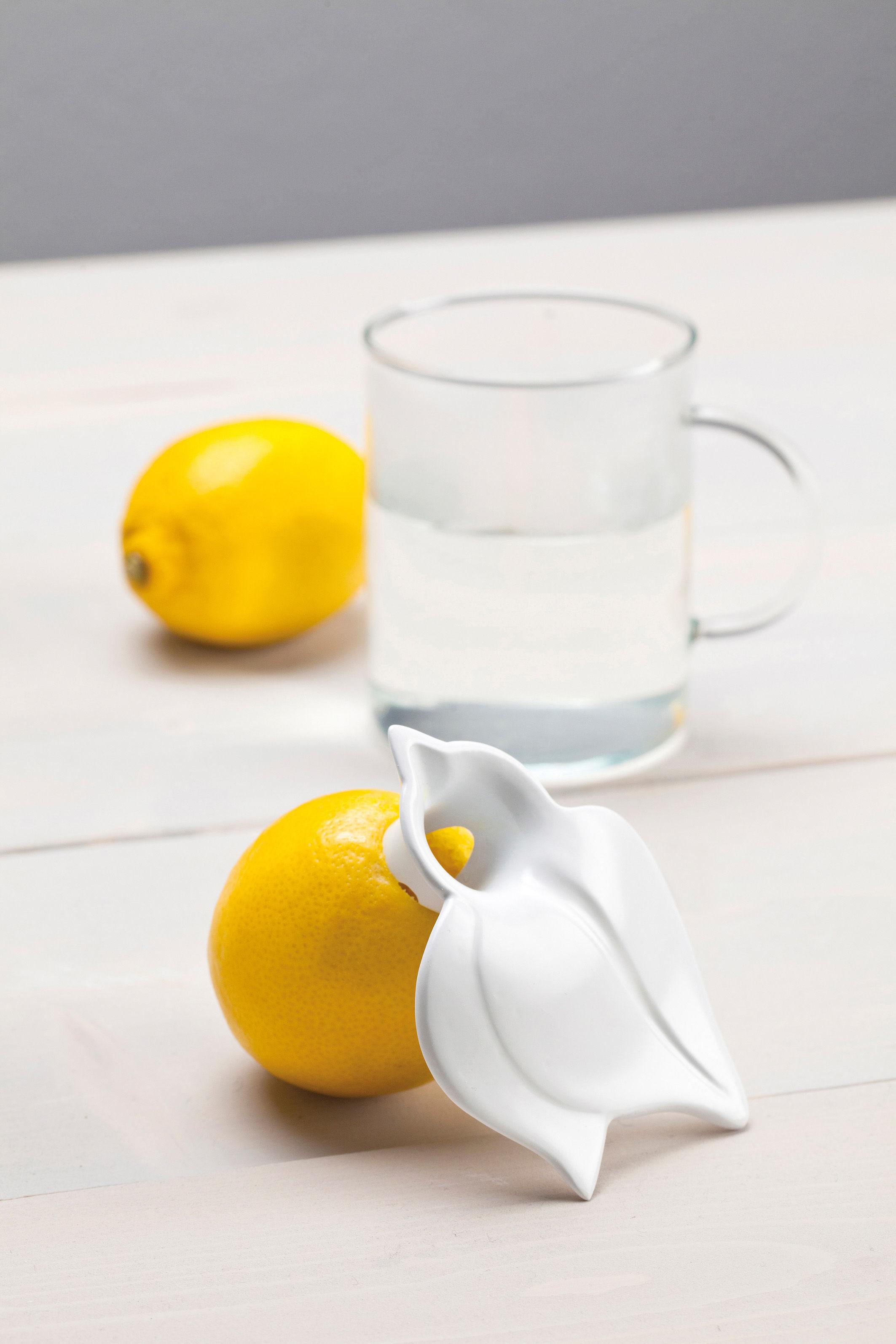 Presse citron juicy blanc opaque koziol - Presse citron de table individuel ...
