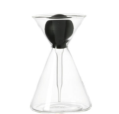 huilier terrazzo vinaigrier transparent noir leonardo. Black Bedroom Furniture Sets. Home Design Ideas