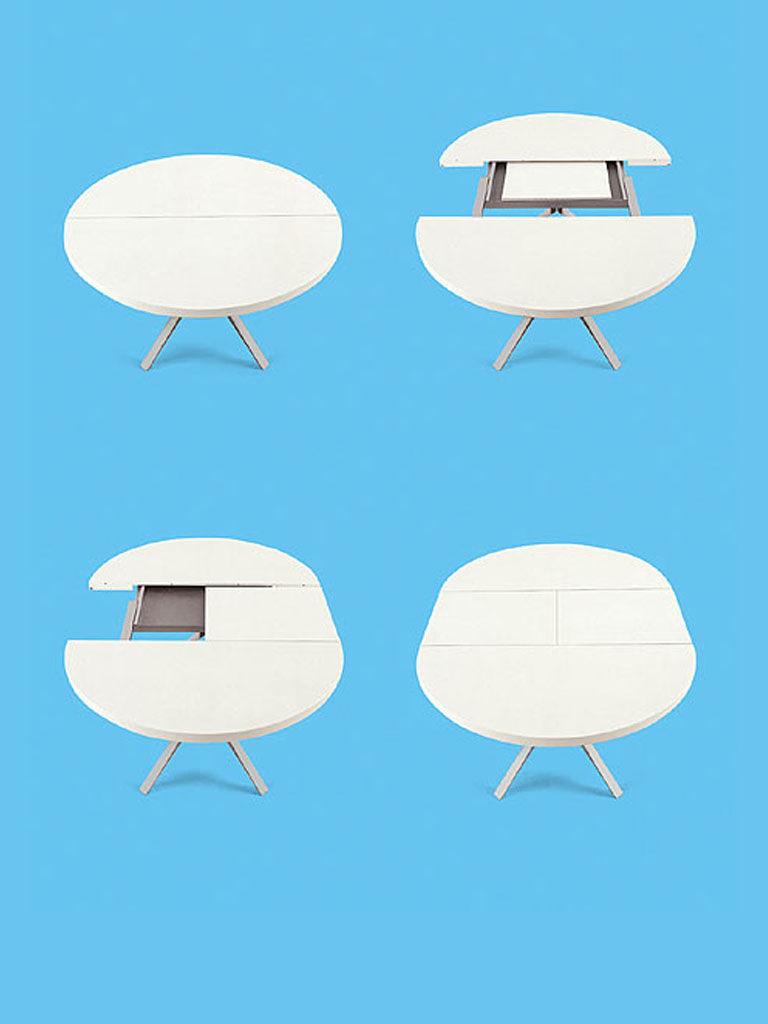 m bel tische oops ausziehtisch zum ausziehen kristalia. Black Bedroom Furniture Sets. Home Design Ideas