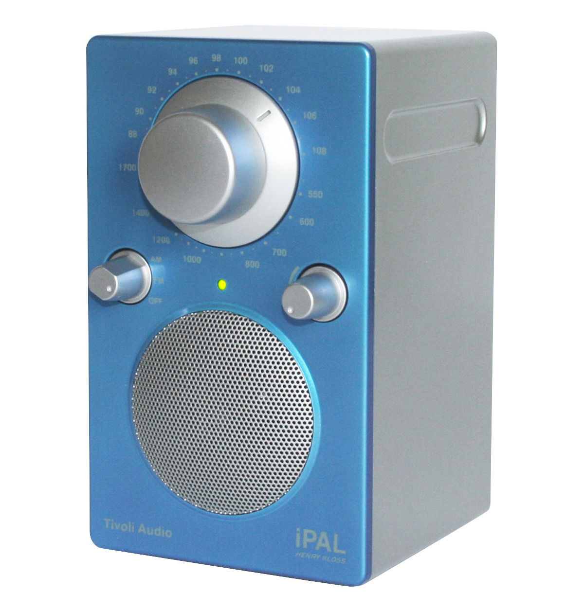 radio ipal enceinte portative compatible ipod bleu tivoli audio. Black Bedroom Furniture Sets. Home Design Ideas