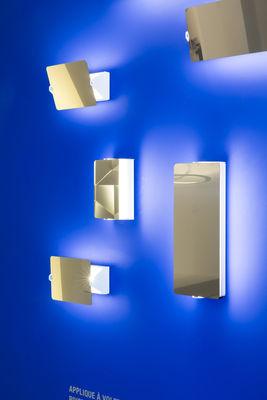 Applique volet pivotant double led charlotte perriand 1962 blanc plaque - Applique charlotte perriand ...