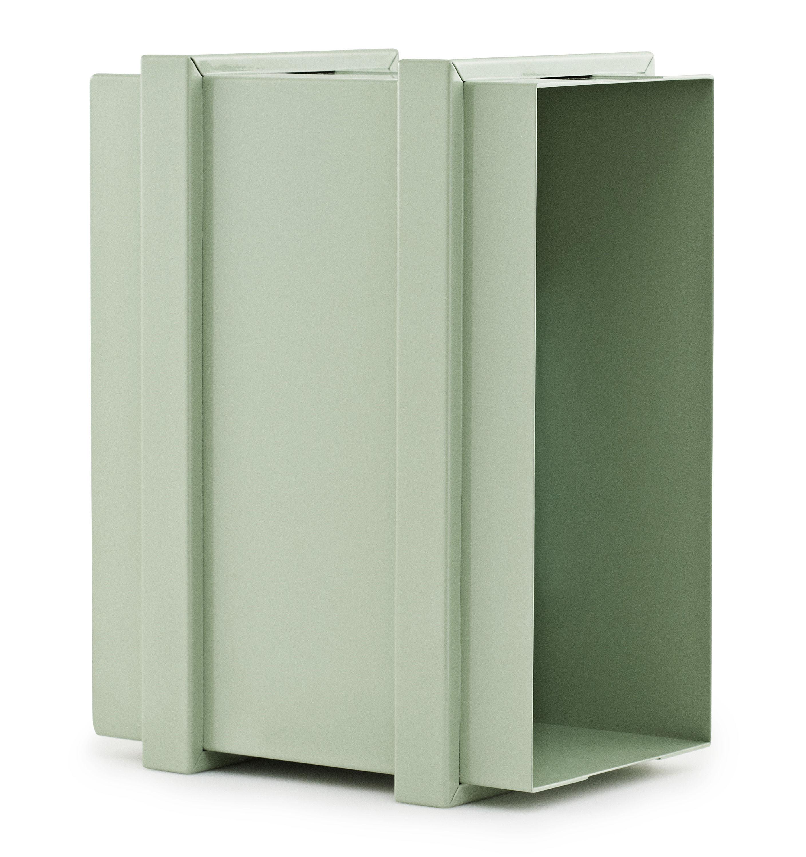 caisson de rangement color box superposable vert. Black Bedroom Furniture Sets. Home Design Ideas