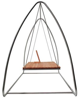 Balancelle Swing Viteo Teck en Métal