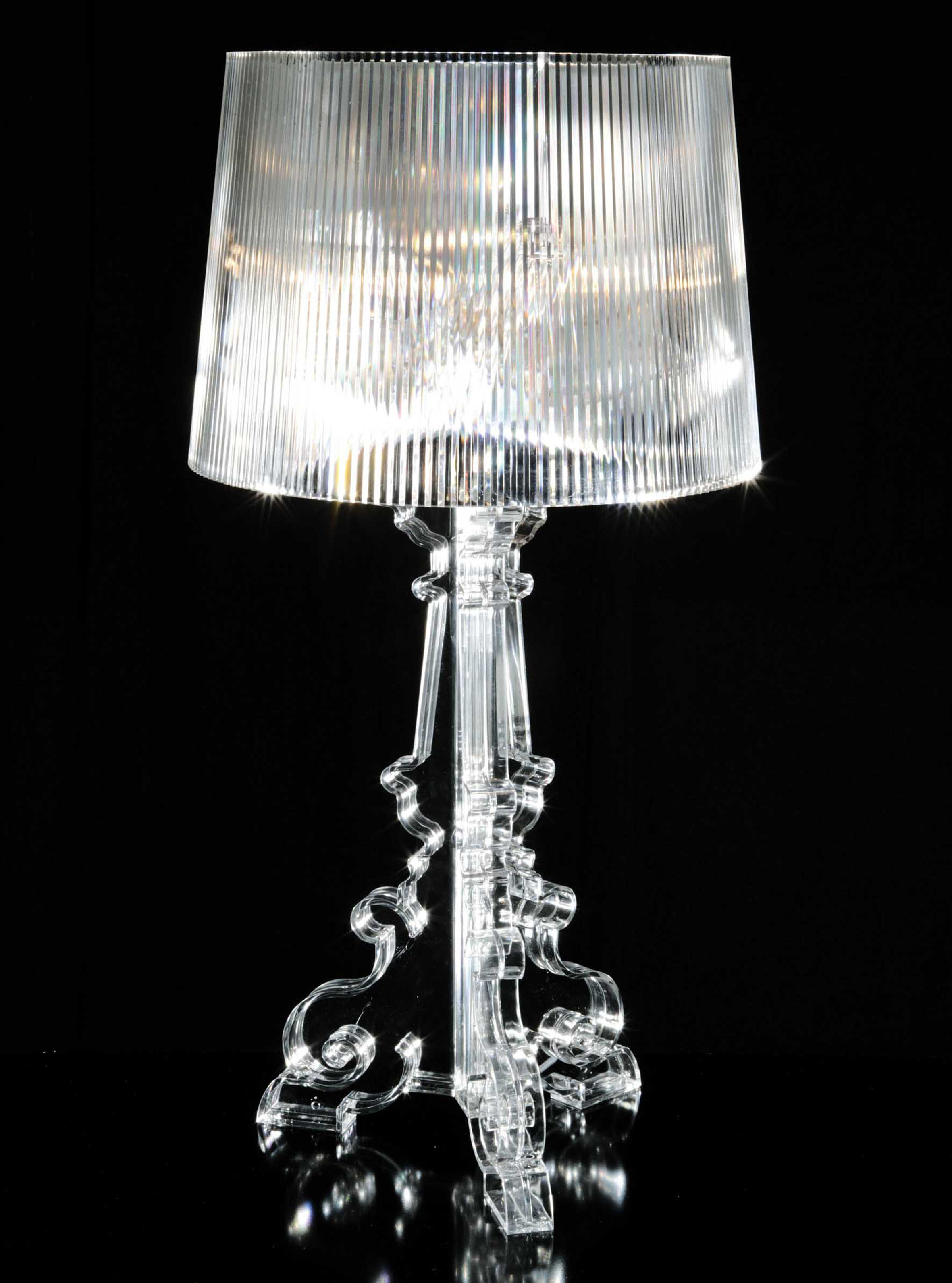 Bourgie Table Lamp Crystal By Kartell