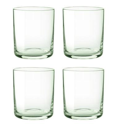 Foto Bicchiere Simply Glass / Set da 4 - Stelton - verde trasparente - Vetro