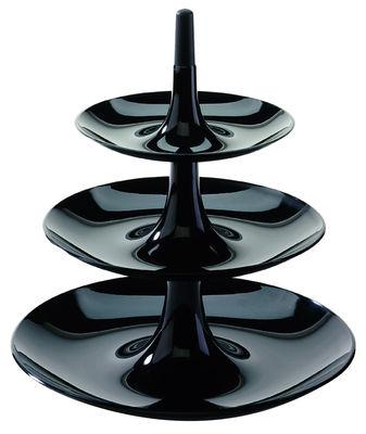 porte fruits babell 31 4 x h 34 cm noir opaque koziol. Black Bedroom Furniture Sets. Home Design Ideas
