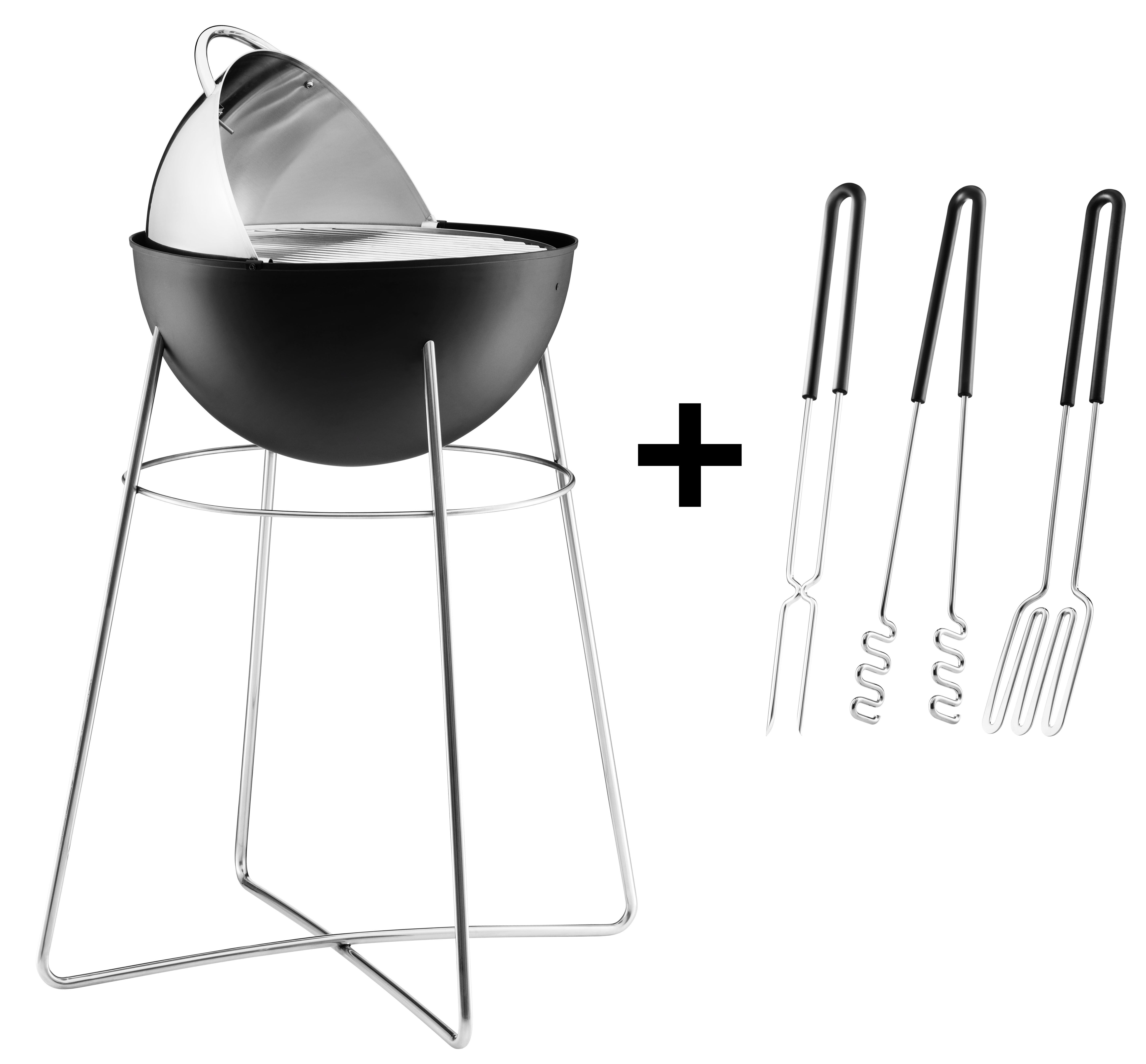 charcoal grill 3 free accessories grill 3 free accessories by eva solo. Black Bedroom Furniture Sets. Home Design Ideas