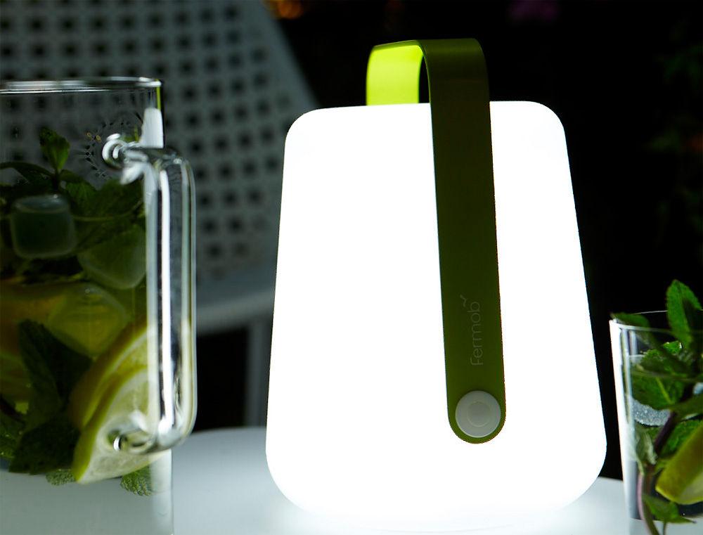 Balad LED  H 25 cm  mit USBLadekabel  Fermob  Lampe  -> Led Lampe Ohne Kabel