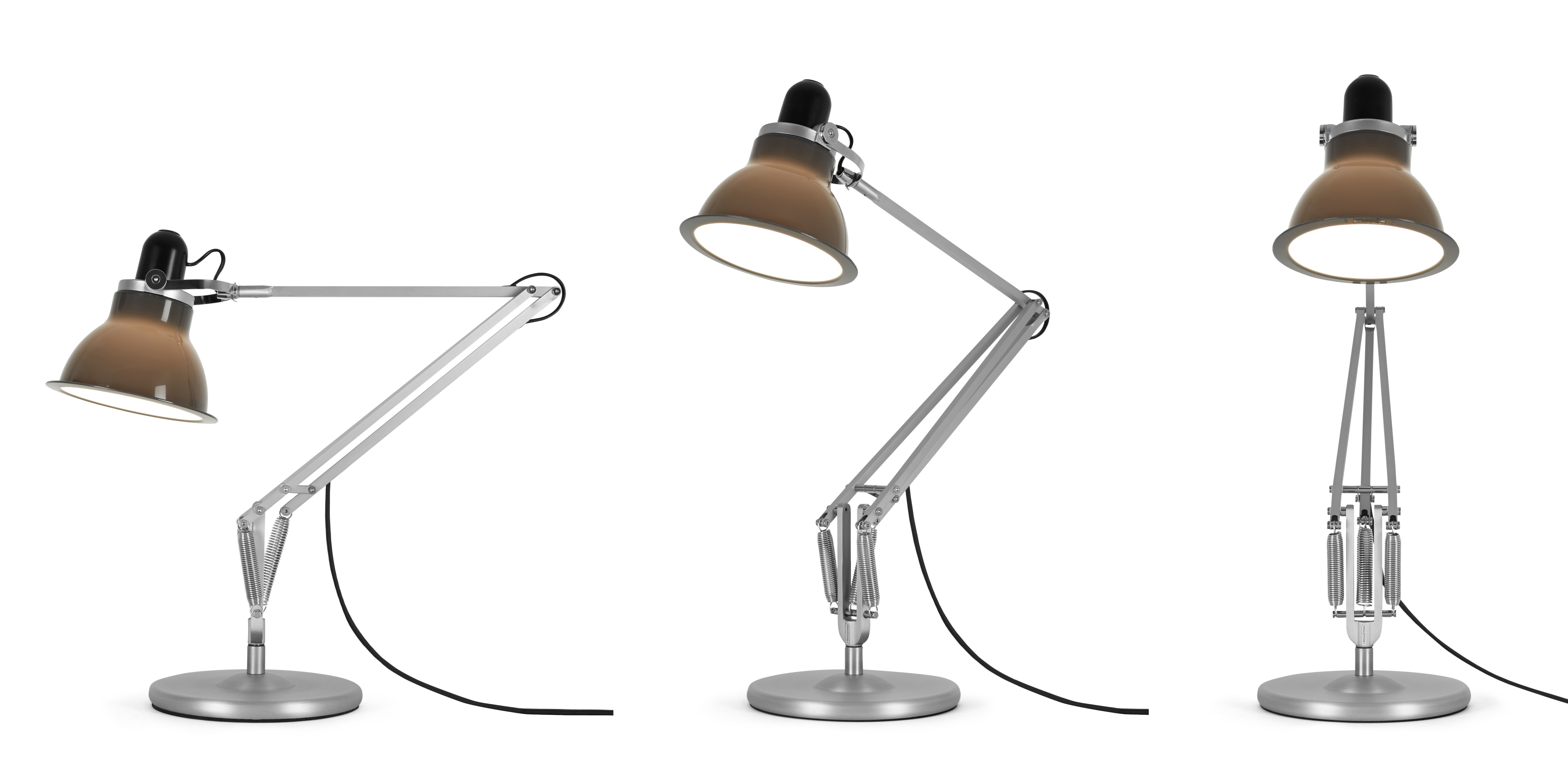 Type 1228 table lamp grey by anglepoise Types of table lamps