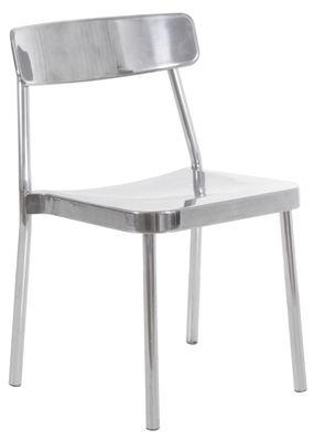 chaise empilable grace indoor alu bross alu bross emu. Black Bedroom Furniture Sets. Home Design Ideas