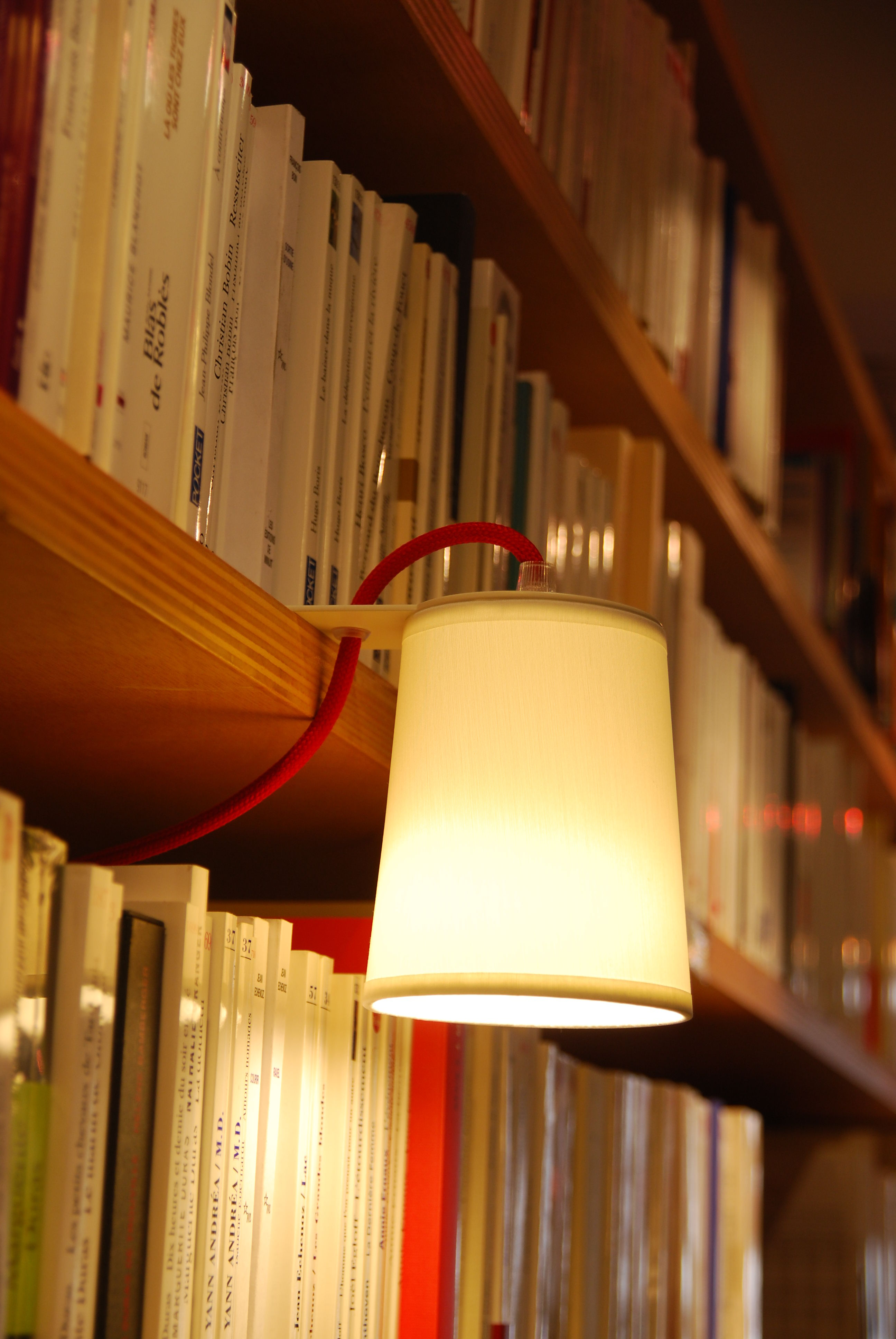 Light Book Lamp Library Lamp White By Designheure