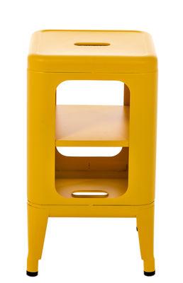Meuble de rangement h 50 cm le corbusier jaune vif tolix - Meuble tolix ...