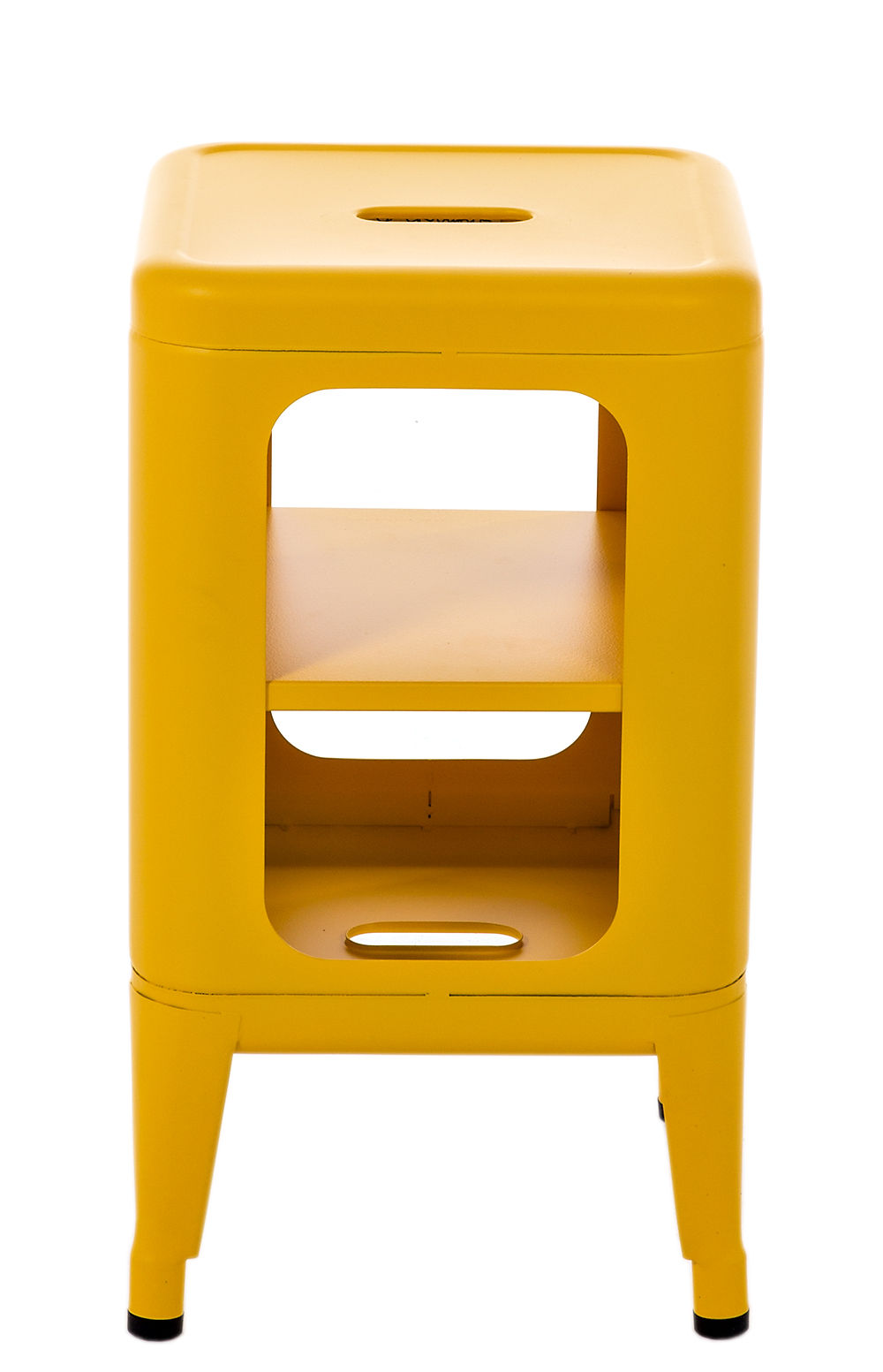 meuble de rangement h 50 cm le corbusier jaune vif tolix. Black Bedroom Furniture Sets. Home Design Ideas
