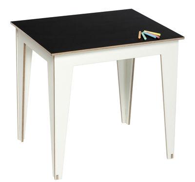 Table enfant kidiki plateau ardoise ardoise noire - Table ardoise design ...