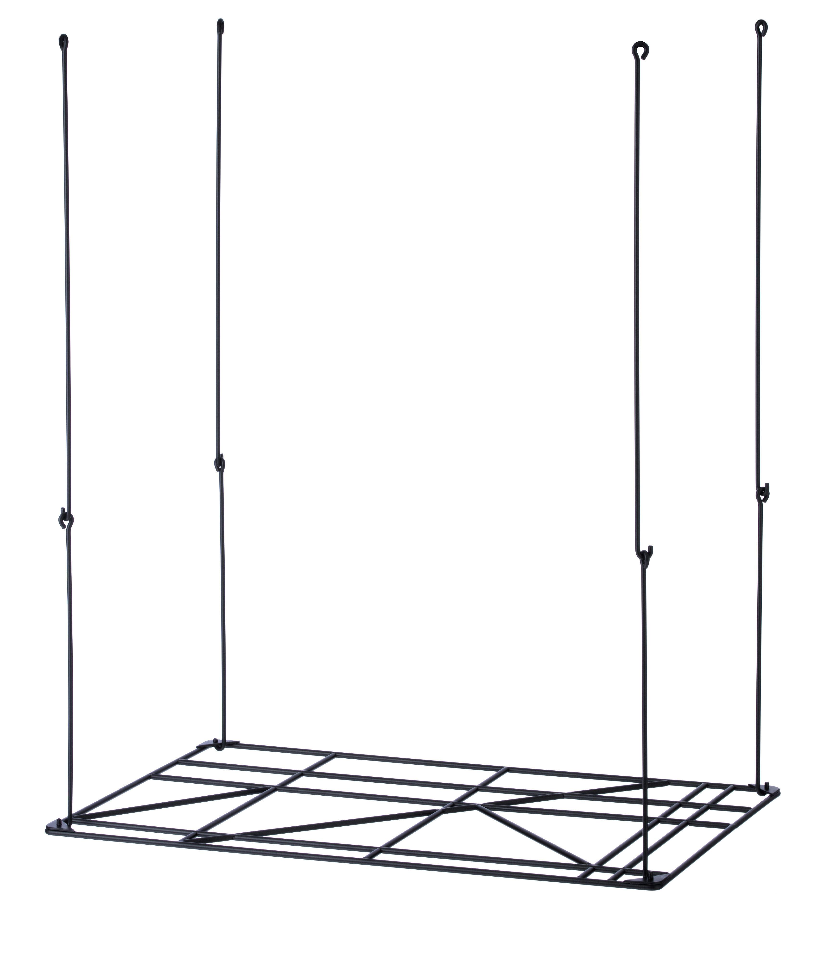 Rangement square rack a suspendre ou accrocher au mur - Accrocher photos au mur ...