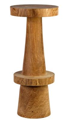 Foto Sgabello bar Simple - / H 74 cm di Pols Potten - Legno naturale - Legno