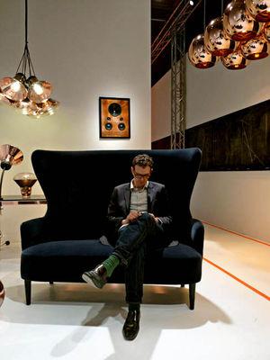 copper round tom dixon pendelleuchte. Black Bedroom Furniture Sets. Home Design Ideas