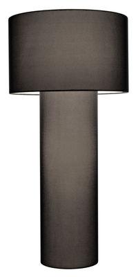 Lampadaire Pipe Mesh Medium / H 149 cm - Diesel with Foscarini Noir en Tissu