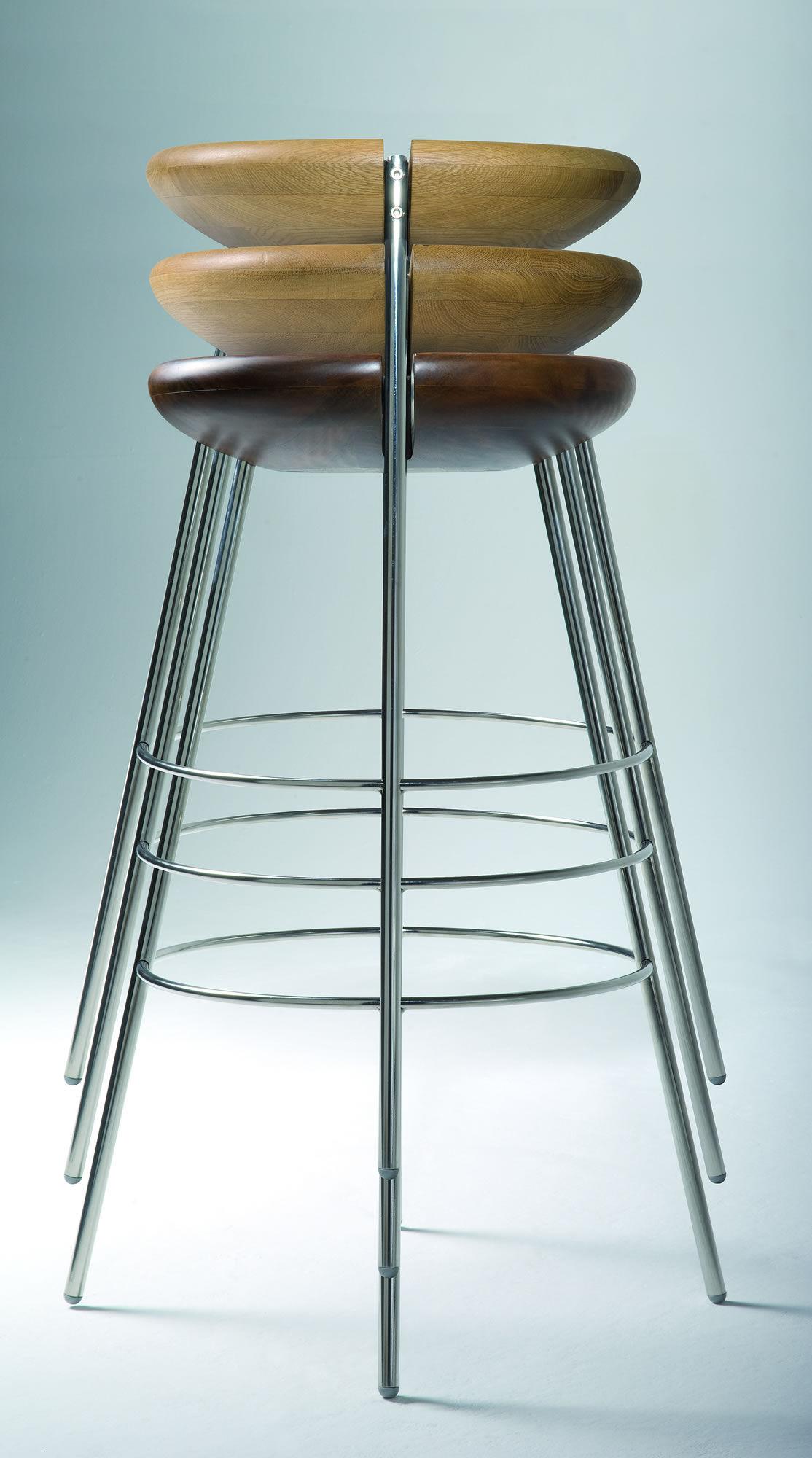 Tribo Bar stool H 76 cm Wood amp metal legs solid oak  : babfbf97 4468 40b0 86ac 57be4217e9fb from www.madeindesign.co.uk size 1114 x 2000 jpeg 178kB