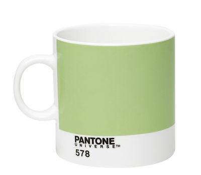 Image du produit Tasse à espresso Pantone Universe™ / 12 cl - ROOM COPENHAGEN Blanc,Vert clair en Céramique