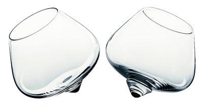 Image du produit Verre à cognac Cognac Glass / Lot 2 verres à bascule - Normann Copenhagen Transparent en Verre