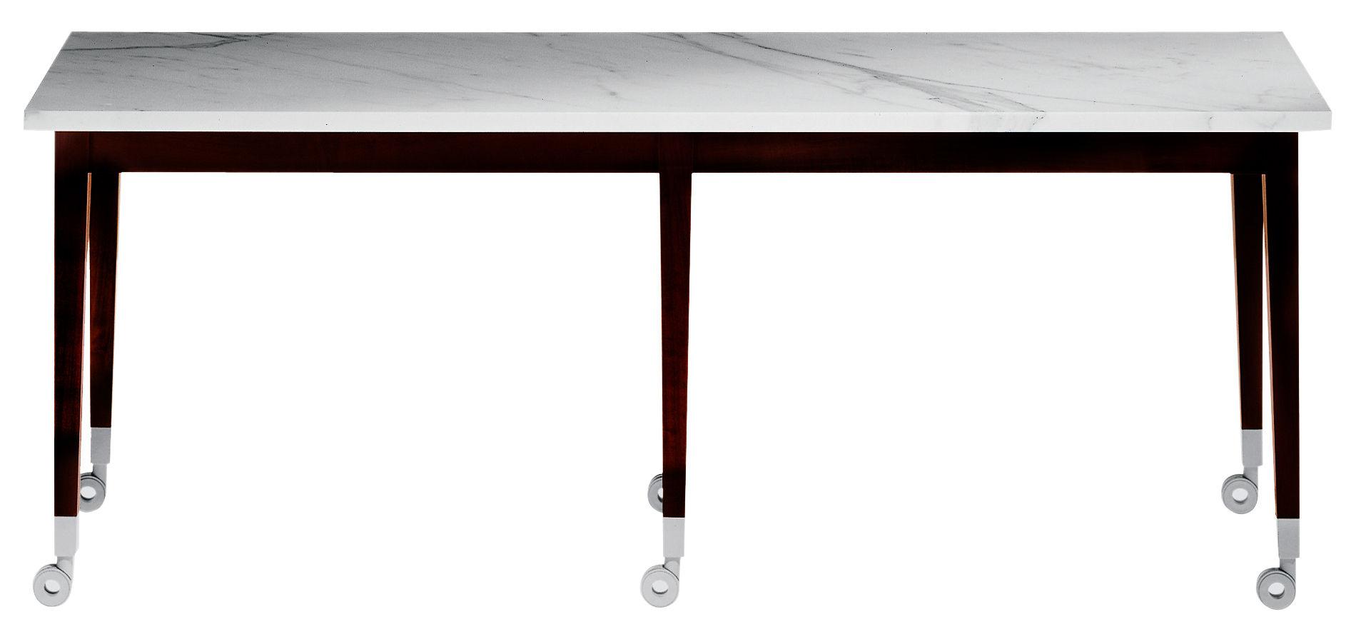 Table basse neoz rectangulaire eb ne marbre driade - Table en marbre rectangulaire ...
