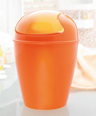 dco salle de bains poubelle del m h 44 cm 12 litres koziol - Poubelle Salle De Bain Orange