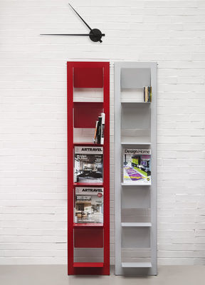 biblioth que pampero poser h 185 cm rouge mati re. Black Bedroom Furniture Sets. Home Design Ideas