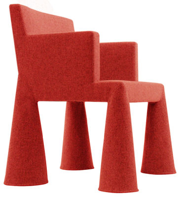 Moooi V.I.P. Chair Desk chair. Red