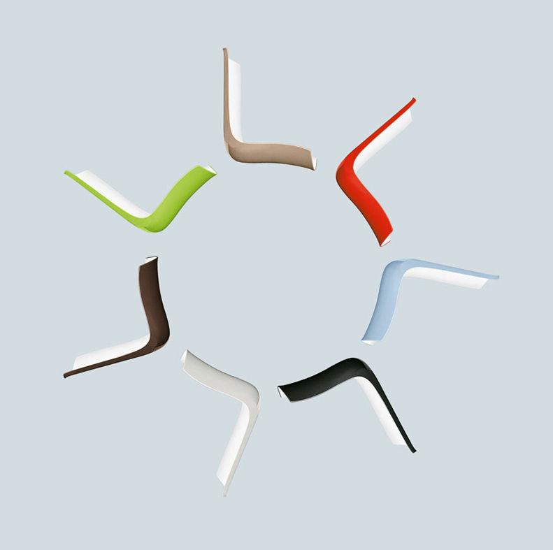 catifa 53 4 stuhlbeine aus holz arper stuhl. Black Bedroom Furniture Sets. Home Design Ideas