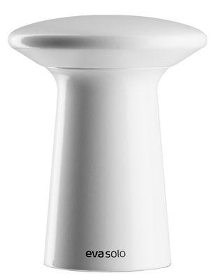 Foto Macina sale e pepe Fungi / H 11 cm - Eva Solo - Bianco - Legno Moulin à sel et poivre