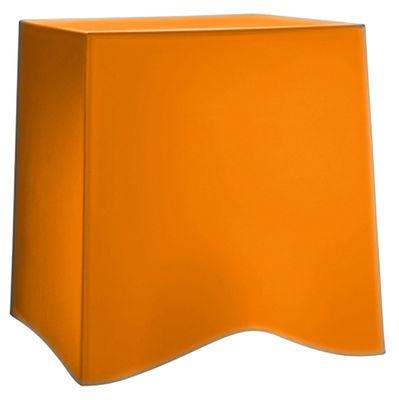 Tabouret empilable briq plastique orange koziol - Tabouret plastique empilable ...