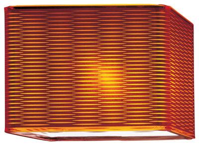 Foto Applique Lounge di Fontana Arte - Arancione - Materiale plastico