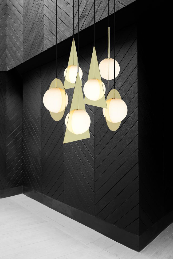 suspension plane round rond laiton poli tom dixon. Black Bedroom Furniture Sets. Home Design Ideas